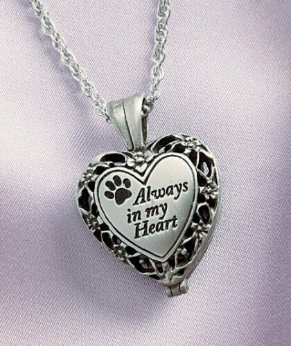 Creamation Urn Memorial Heart ~ Always in my Heart Locket for Pet OR Loved One in Everything Else, Funeral & Cemetery, Cremation Urns | eBay