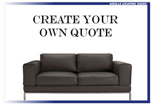 Create your own wall quote vinyl sticker Wall art decal