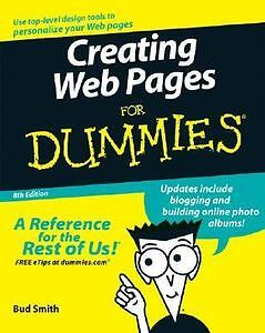 Creating Web Pages For Dummies Arthur Bebak, Bud E. Smith