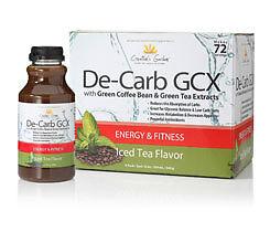 ... green coffee bean & green tea extracts creation's garden de-carb gcx