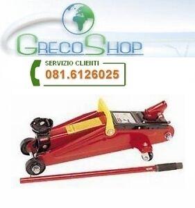 Cric martinetto idraulico a carrello 2000kg ebay for Cric idraulico a carrello professionale prezzi