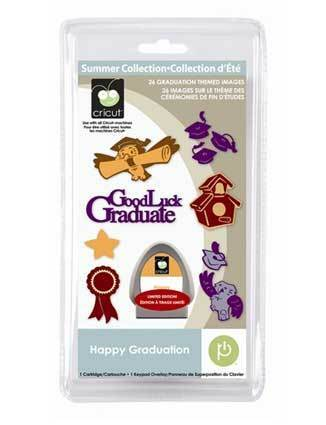 Cricut Happy Graduation Seasonal Cartridge >> Brand-New <<