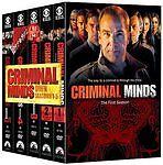 Criminal Minds: Seasons 1-5 (DVD, 2010, ...