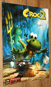 Croc 2 / Mission Impossible very rare Poster 56x79cm - <span itemprop='availableAtOrFrom'>Braunschweig, Deutschland</span> - Croc 2 / Mission Impossible very rare Poster 56x79cm - Braunschweig, Deutschland