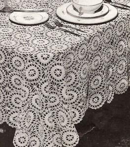 Crochet Motif Pattern Round