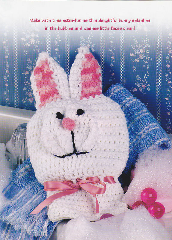 Free Knitting Pattern - Octopus Bath Mitt from the Animals Free