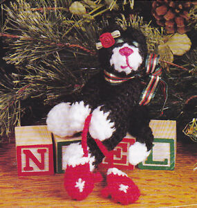 Kitty Cat Key Ornaments Pattern Packet by Jeanne Bobish, A