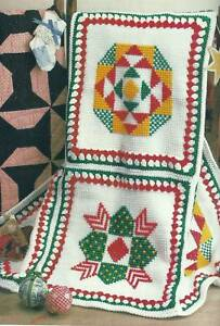 CROCHET CHRISTMAS AFGHAN PATTERN - Crochet — Learn How