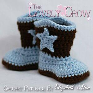 Boot Cowboy Crochet Pattern Free Crochet Patterns