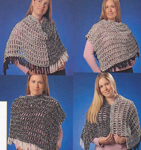 ADULT PONCHO CROCHET PATTERN - Crochet Patterns