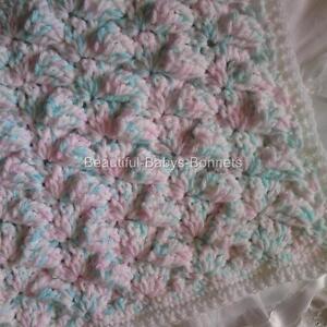 Free Pattern: Gossamer Crochet Baby Blanket