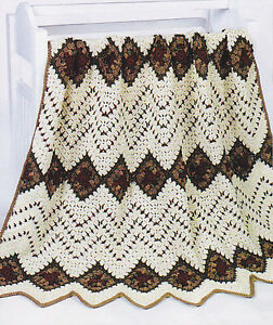CROCHET AFGHAN PATTERN INDIAN Crochet Patterns Only