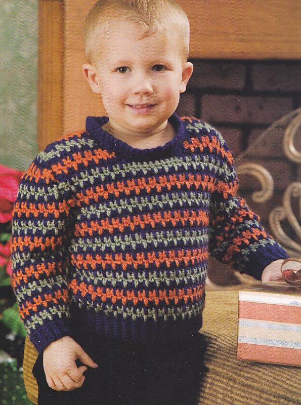 Boy Crochet Pattern Sweater Crochet Patterns