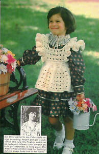 Crochet Every Day: May 30: Blue Pinafore with Ruffles | Crochet