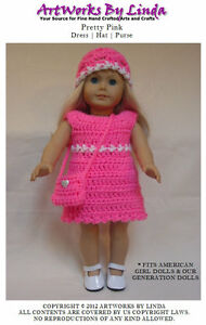 ABC Knitting Patterns - Crochet >> Doll Clothes.