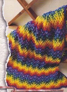 Crochet Ripple Blanket/Afghan - Link to Free Pattern