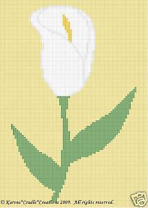 Best Free Crochet   Calla Lily Doily – Free Crochet Pattern