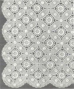 Free Crochet Pattern 80205AD Bridal Shawl : Lion Brand Yarn Company