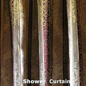 Croscill TOWNHOUSE Shower Curtain BRAND NEW In Home
