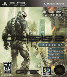 Crysis 2: Limited Edition  (Sony Playsta...