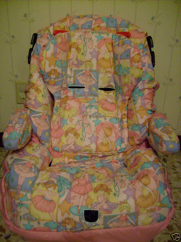 Custom Car Seat Armrest Cover for Alpha Omega Elite