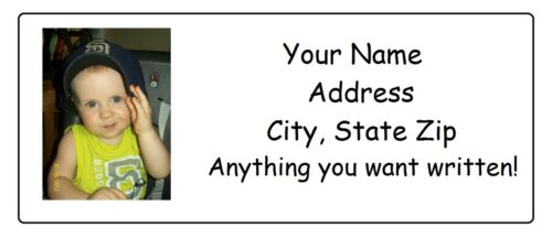 Custom Graphic Photo Picture Personalized Address Labels Buy 2 get 1 FREE! in Specialty Services, Printing & Personalization, Address Labels-Graphical | eBay