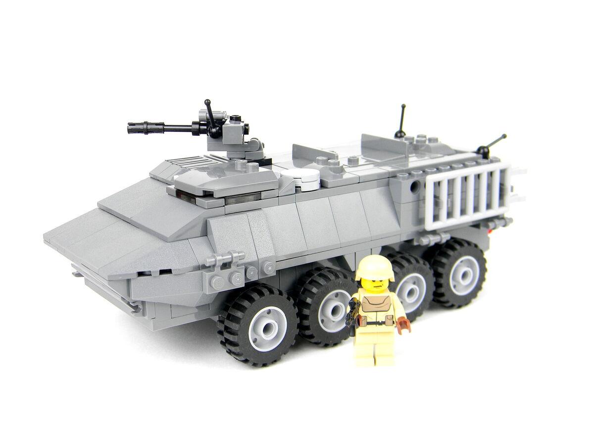 Custom Lego Army Tank Stryker Armored Vehicle