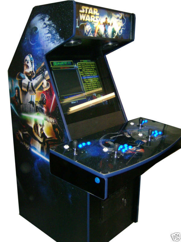 4 player arcade machine