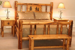 Log Bed Furniture