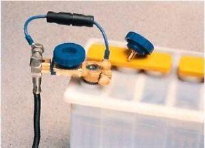Car battery kill switch side post