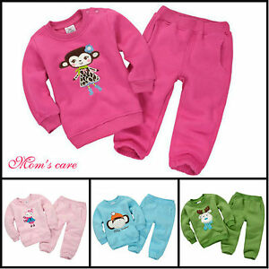 Cute Kids Sports Wear Baby Clothing Outfit Girls Sports