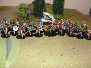 DARK-AGE-VIKING-WARBAND-PRO-PAINTED-BY-EYE-28MM-SAGA-GRIPPING-BEAST