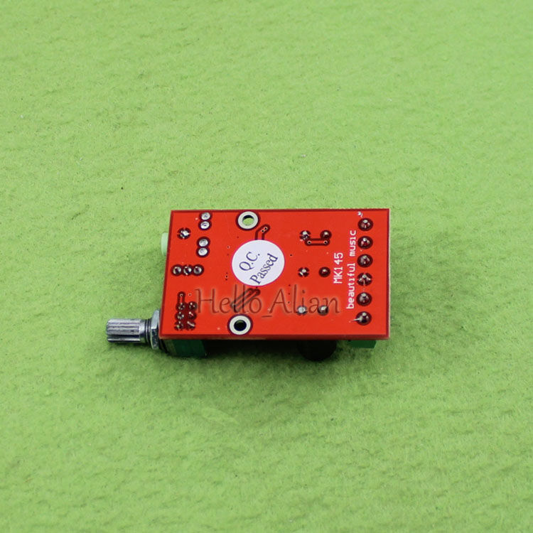 DC 9V 12V 2*12W YDA138-E Digital Audio Amplifier Board Class D 3.5mm audio Jack