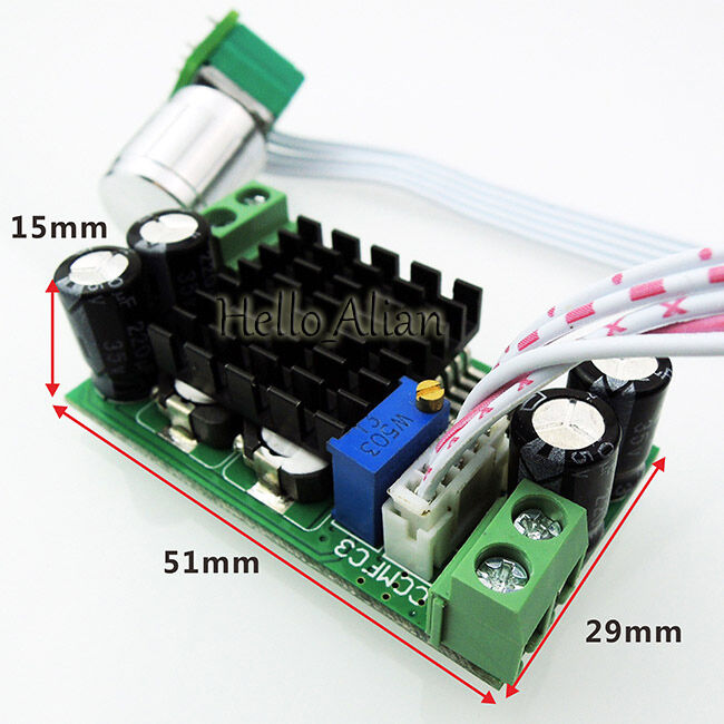 Dc 5v 12v 24v 1a pwm motor speed regulator controller for Fan motor speed control switch
