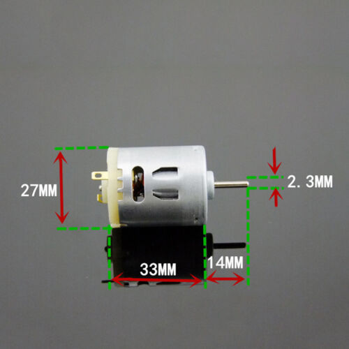 DC6-12V 0.38A 5680-10885RPM 18G.cm High Troque Electric Micro Motor for RC Model