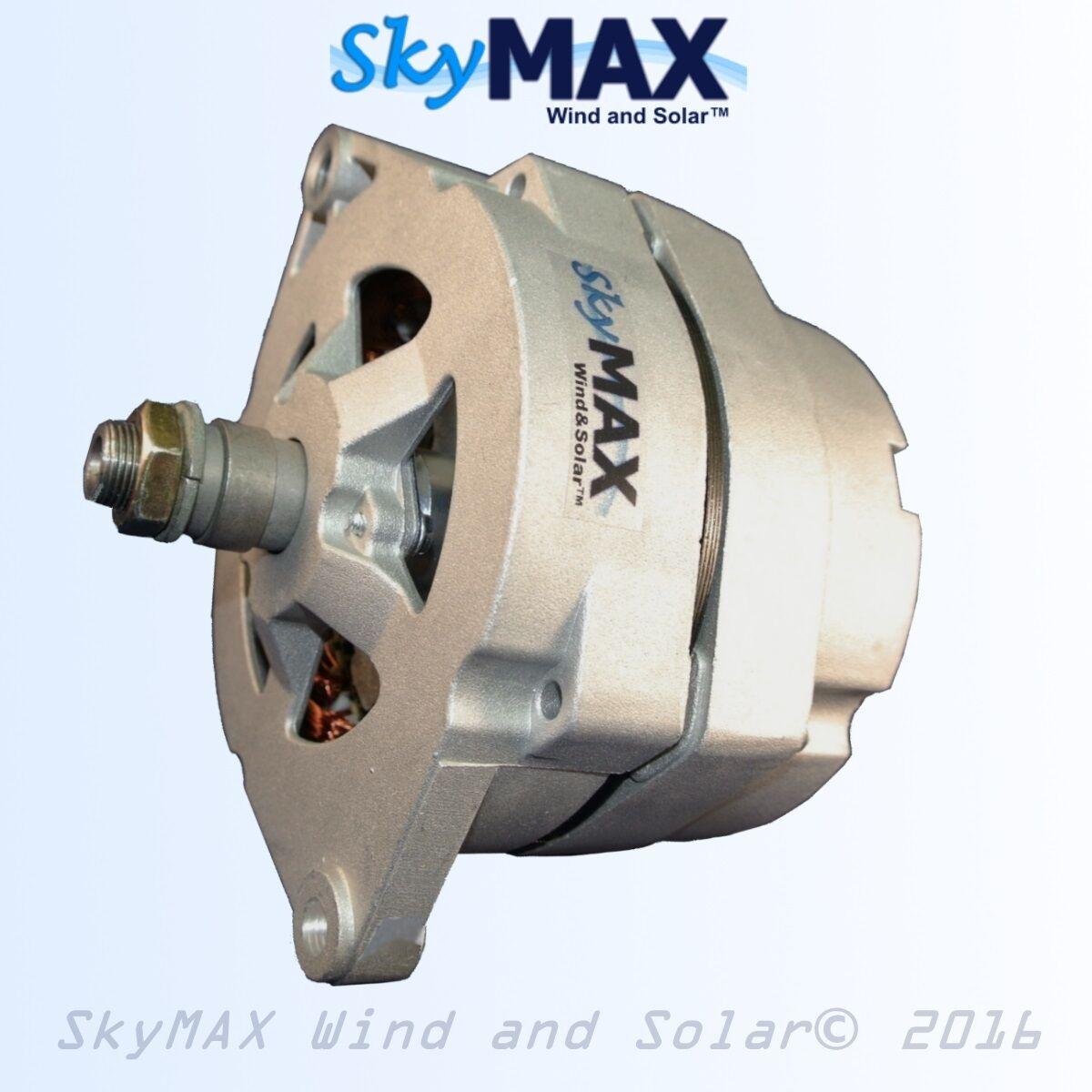 Dc permanent magnet alternator 12 volt for building a wind turbine skymax wind and solar solutioingenieria Choice Image