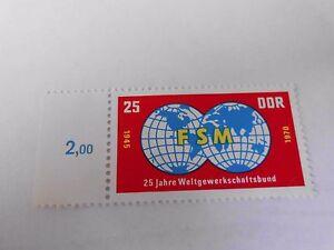 DDR-Briefmarke-M-1578-25-Pf-Freier-Dt-Gewerkschaftsbund-1970-postfrisch