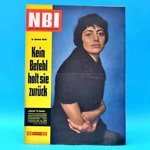 DDR NBI 23/1959 Berlin Leipzig Täve Schur Friedensfahrt Kruscharska Prag Q - Deutschland - Widerrufsbelehrung Widerrufsrecht Sie haben das Recht, binnen eines Monats ohne Angabe von Gründen diesen Vertrag zu widerrufen. Die Widerrufsfrist beträgt einen Monat ab dem Tag, - an dem Sie oder ein von Ihnen benannter Dritter, der nich - Deutschland