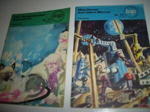 DDR-Romanheft-Serie-KAP-Phantastik-Zukunftsroman-Nr-74-79-1969