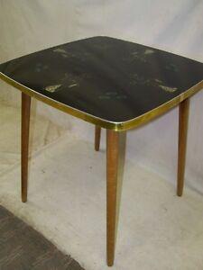 Ddr teetisch tisch kult retro design 60er jahre vintage for Beistelltisch 60er jahre