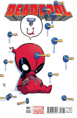 DEADPOOL #1 Marvel Comics NOW YOUNG BABY VARIANT in Collectibles, Comics, Modern Age (1992-Now) | eBay