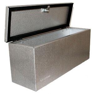 deichselbox stema staubox pkw anh nger werkzeugbox werkzeug kiste koffer metall ebay. Black Bedroom Furniture Sets. Home Design Ideas
