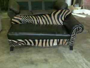 del rio zebra chaise lounge ebay. Black Bedroom Furniture Sets. Home Design Ideas