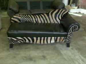 del rio zebra chaise lounge ebay. Black Bedroom Furniture Sets. Home Design Ideas
