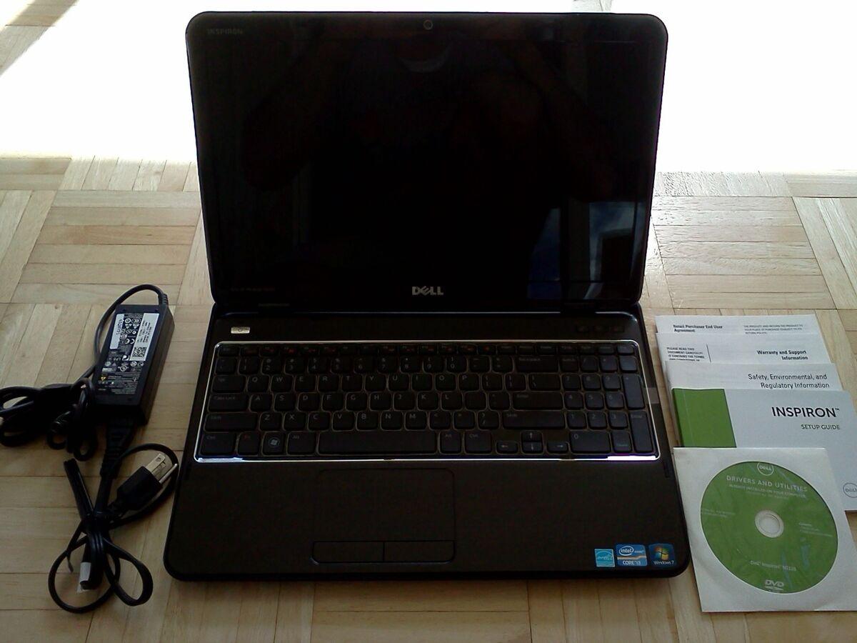 DELL 15R LAPTOP NOTEBOOK BLU RAY i3 2310 2 1GHz 6GB 640GB 15 6 WINDOWS