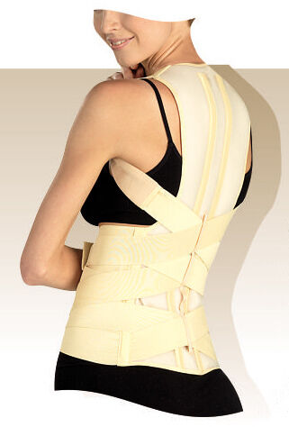 DELUXE POSTURE CORRECTOR Lumbar Support Belt Round Shoulder Back Brace Scoliosis in Health & Beauty, Medical, Mobility & Disability, Braces & Supports | eBay