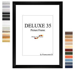 DELUXE35-Bilderrahmen-52x107-cm-oder-107x52-cm-Foto-Galerie-Posterrahmen