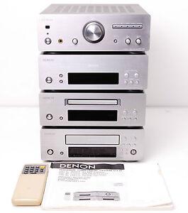 denon d f10 f10 high end mini anlage cd radio amp tape. Black Bedroom Furniture Sets. Home Design Ideas