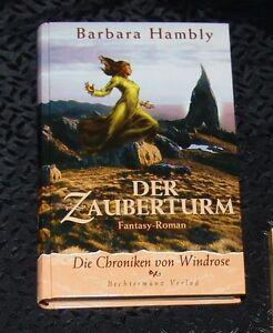 DER-ZAUBERTURM-Barbara-Hambly-1999-TOP-GEBUNDEN-Nichtraucher-KEIN-Maengele