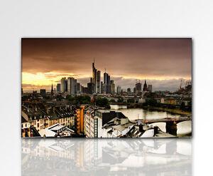 designbilder wandbild city 120x70cm gro frankfurt. Black Bedroom Furniture Sets. Home Design Ideas